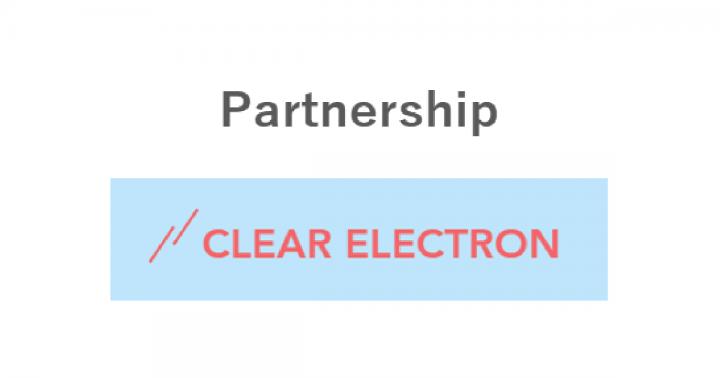 クリア電子と「テクノロジー教育に関するパートナーシップ」を締結